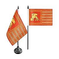 Digni® Italy Republic of Venice 697-1797 Table Flag + free sticker