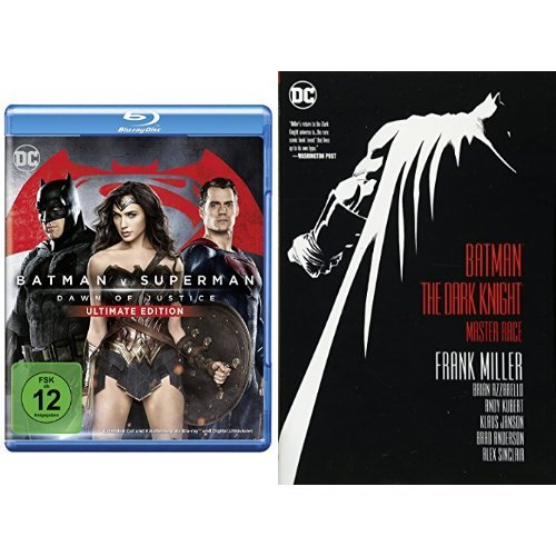 Batman v Superman: Dawn of Justice ? Ultimate Edition [Blu-ray] + Batman: The Dark Knight: Preisvergleich