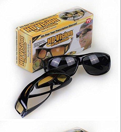 moradiya fresh New ImpressiveDay & Night HD Vision Goggles Anti-Glare Polarized Sunglasses Men/Women Driving Glasses Sun Glasses UV Protection car Drivers  available at amazon for Rs.297