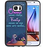 Lilo & Stitch Funda Samsung Galaxy S7 Caso Case,Disney Lilo & Stitch Funda Samsung Galaxy S7 negroand PC Caso Case