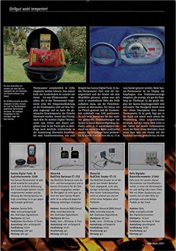 51gWPV29m2L - BBQ Thermometer Funk Grill mehrfacher Testsieger Heft Der Griller 1/2015 für BBQ, Ofen und Grills.
