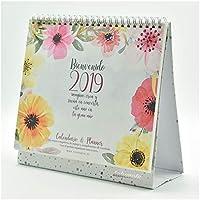 Calendario Takenote Flores - Calendario sobremesa 2019-29 x 21cm