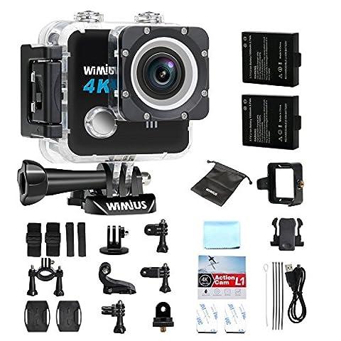 WiMiUS L1 Action Cam 4k Actioncam wifi 20MP Action Kamera