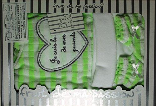 Cofanetto nascita bambino, da 0 a 3 mesi, 4 pezzi, idea regalo per nascita maternità CN4PVL BCVERY-