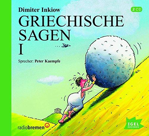 Preisvergleich Produktbild Griechische Sagen I. 2 Audio-CDs