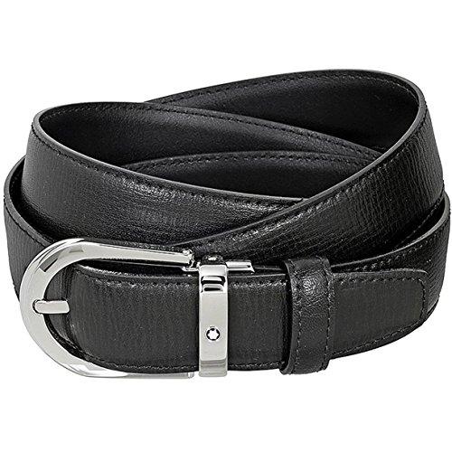 Belt Palladium Black Printed 30mm