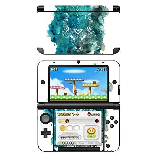 """'Disagu Design Skin für Nintendo 3DS XL Motiven: Sternzeichen Stier """""""