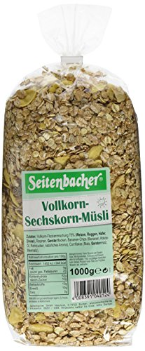 Seitenbacher Vollkorn 6 Korn Müsli, 3er Pack (3 x 1kg) (Mais-chips Natürlichen Alle)