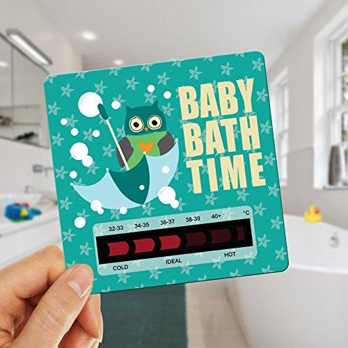 eule-baby-badethermometer-kartenform-baby-bad-ist-nicht-zu-heiss-oder-babysicher-minty-grun-eule