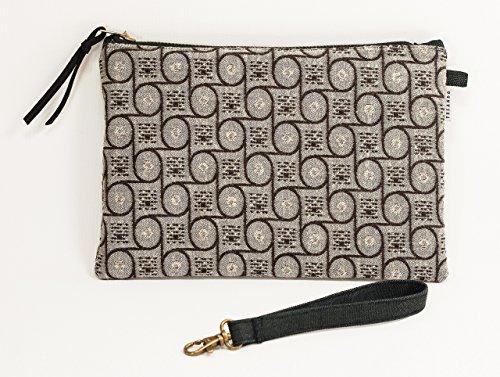 Clutch Geldbörse. Handgelenkstasche. Braun Clutch. Cross-Tasche. Brieftasche. Umhängetasche. Party Tasche. Retro-Stil Tasche. Große Geldbörse
