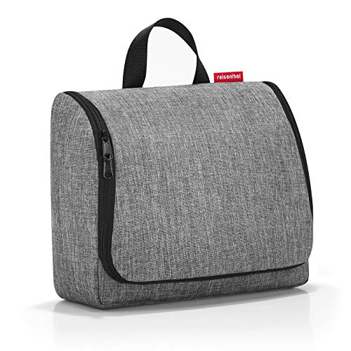 Reisenthel toiletbag XL Twist Silver Kulturtasche, 59 cm, 4L, Twist Silver -