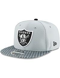New Era Snapback Cap - NFL 2017 SIDELINE Oakland Raiders