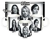 MasTazas Nirvana Dave Grohl Krist Novoselic Kurt Cobain A Tasse Mug