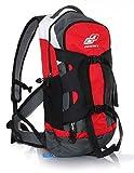 GHOST Bikes Backpack Rucksack 20 L rot/grau/weiß