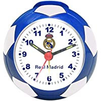 Seva Import Real Madrid 706017 Despertador Balón, Unisex, Azul/Blanco, Talla Única