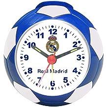 Seva Import Real Madrid 706017 Despertador Balón, Negro, Única