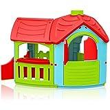 Marian - Plast 300 - 0662 - Niños - Playhouse Villa con el anexo