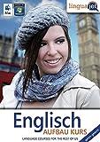 Englisch gehirn-gerecht, Aufbau-Kurs, CD-ROM Gehirn-gerecht Englisch lernen, Computerkurs Linguajet. 45 Min.