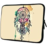 """Snoogg Dream Catcher Colourful 12"""" 12.5"""" 12.6"""" Inch Laptop Notebook Slipcase Sleeve Soft Case Carrying Case For MacBook Pro Acer Asus Dell Hp Sony Toshiba"""