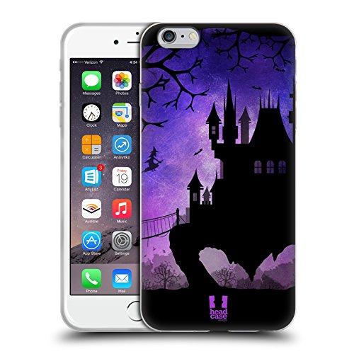 Head Case Designs Schwarz Und Weiss Dynamische Streifen Soft Gel Hülle für Apple iPhone 7 / iPhone 8 Verfolgt