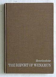 Report of Wenamun