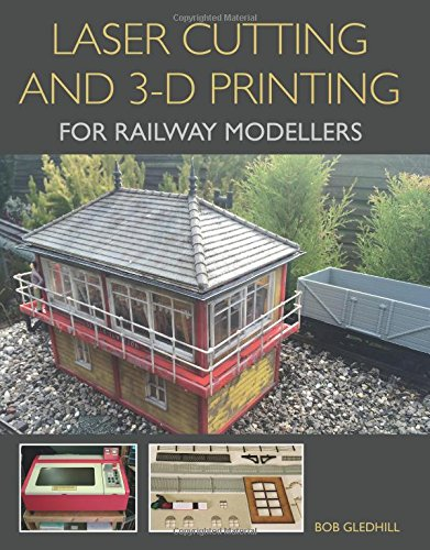 Laser Cutting and 3-D Printing for Railway Modellers (Eisenbahn Ho Gebäude)