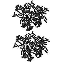 100pcs Bicycle Shifter Brake Gear Inner Cable Tips Ends Caps Crimp Ferrule Tcb