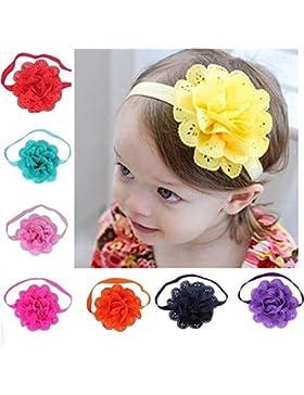 Fasce bambine e ragazze, Sagratore Accessori della fascia dei capelli di Props della parte superiore dei fiori...