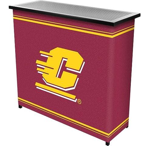 Central Michigan UniversityT 2 Shelf Portable Bar w/