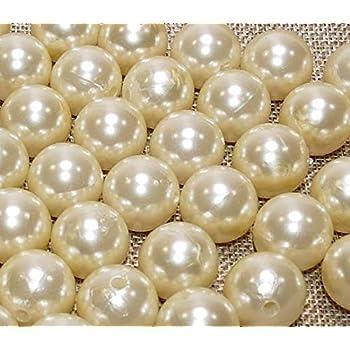 Bastel- & Künstlerbedarf 50 Perlen Perlmutt Champagner Creme Hochzeit Wachsperlen 10mm Perle Mit Loch Hochzeitsdekoration