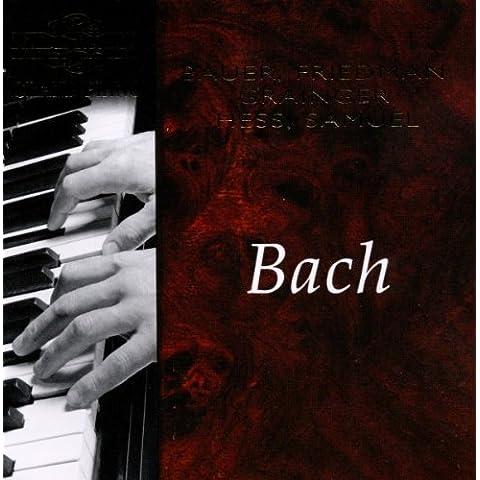 Bach: Various Piano Works - Nimbus Grand Piano