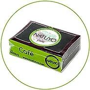 - Mascarilla de jabón NATUYO exfoliante de CAFÉ.- Estimula la circulación sanguínea, reduce ojeras o bolsas en
