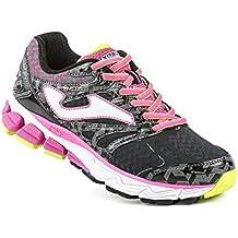 Joma R.titanium Lady 601 Negro-fucsia - Zapatillas para correr Mujer