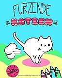 Furzende Katzen: Zum Ausmalen