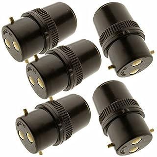 5 Pack - B22 Socket Extension Plug 5Amp 240V