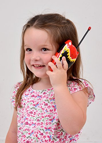 Image of Kids Walkie Talkie Toy for Children Great Fun for Indoor and Outdoor Play - Boys (Power Rangers)