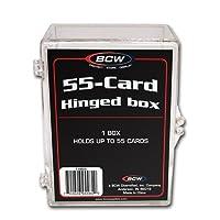 55 Card Acrylic Storage Box X 4 Pack