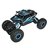 #2: Adraxx 1:18 Scale Remote Control Mini Rock Through Car, Blue