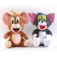 Tom y Jerry Peluche Conjunto- 25 cm / 10