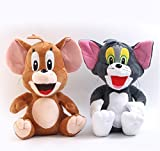 Tom and Jerry Plüschtier Set - 25 cm / 10 ''