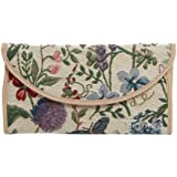 Signare Womens Tapestry Envelope Purse Floral