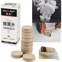 TOPmountain Smoke Effect Show Cake 10 Piezas Demostración del Modelo del purificador de Aire Fuego Taladro