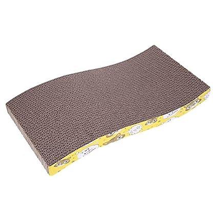 Everpert Double Side Corrugated Pet Scratching Bed Cat Scratch Board Kitten Play Mat 1