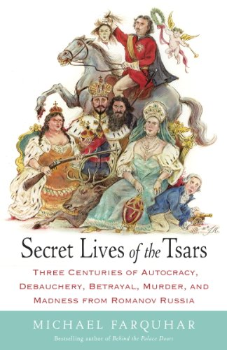 Secret Lives of the Tsars: Three Centuries of Autocracy, Debauchery, Betrayal, Murder, and Madness from Romanov Russia (English Edition) -