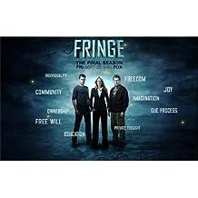 Fringe Poster On Silk <56cm x 35cm, 22inch x 14inch> - Cartel de Seda - 816941