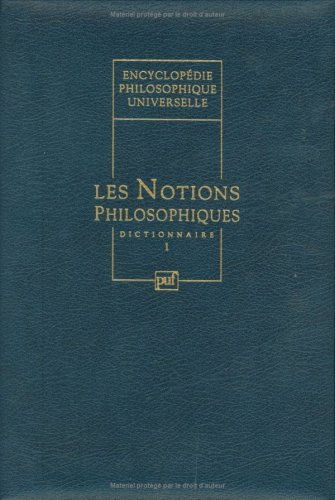 Encyclopédie philosophique universelle