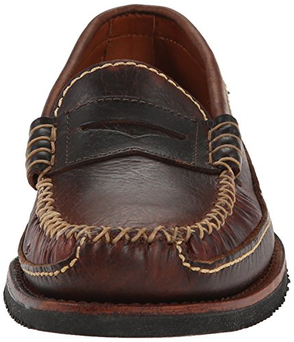 Chippewa American Bison Penny Cuir Mocassin brown