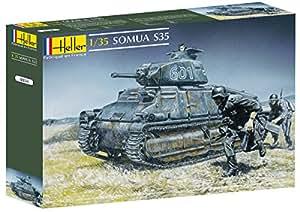 Heller - 81134 - Construction Et Maquettes - Somua S35 - Echelle 1/35ème