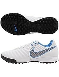 Nike Tiempo X Legend VII Academy TF, Color Blanco/Azul Royal