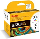 Original & Genuine Black & Colour ink for Kodak ESP C110 ESP C310 ESP C315 ESP Series C100 ESP Series C300 ESP Office 2150 ESP Office 2170 ESP Office Series 2100 Hero 3.1 Hero 5.1 AIO Printers & 10 Free sheets of HP Advanced Glossy Photo Paper
